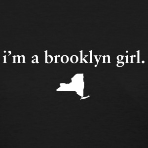 Cute Brooklyn Girl Top Tee T-Shirt Shirts Tees Women's T-Shirts - Women's T-Shirt