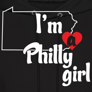 I'm a Philly Girl Cute Funny Love T-Shirt Shirts T Hoodies - Men's Hoodie