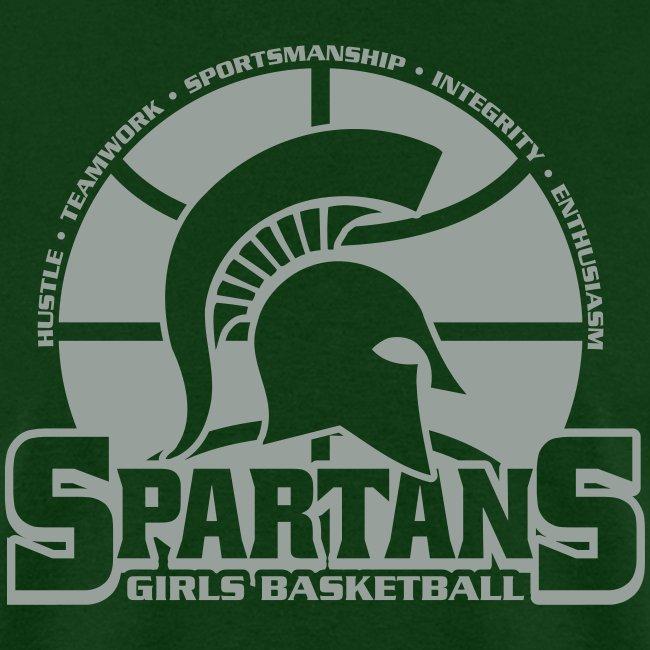Spartan Girls Basketball Tshirt