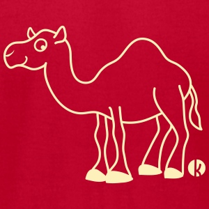 Camel T-Shirts - Men's T-Shirt by American Apparel