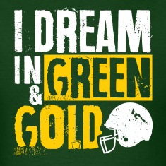 I Dream in Green & Gold