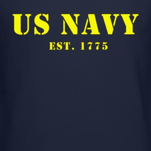 US Navy est. 1775 Men's Crew Sweat Shirt - Crewneck Sweatshirt