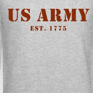 US Army est 1775 Men's Sweat Shirt - Crewneck Sweatshirt
