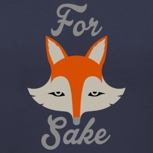 For Fox Sake Women's T-Shirts - Women's V-Neck T-Shirt