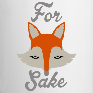 For Fox Sake Mugs & Drinkware - Contrast Coffee Mug