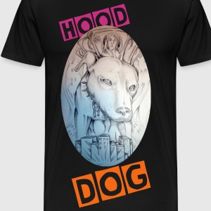 HOOD DOG - Men's Premium T-Shirt