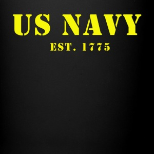 US Navy est. 1775 Coffee Cup - Full Color Mug