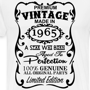 Made in 1965 T Shirt - Vintage 1965 T Shirt - 50th T-Shirts - Men's Premium T-Shirt