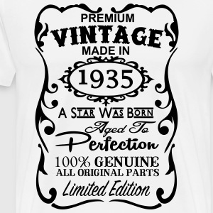 82nd Birthday Gift Ideas for Men and Women Unique  - Men's Premium T-Shirt