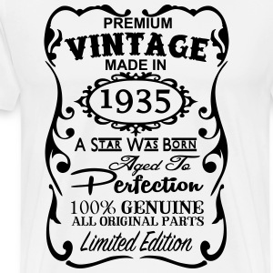 80th Birthday Gift Ideas for Men and Women Unique T-Shirts - Men's Premium T-Shirt