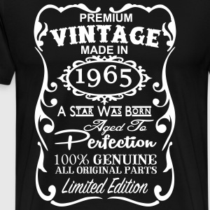 Made in 1965 T Shirt - Vintage 1965 T Shirt - 52nd - Men's Premium T-Shirt