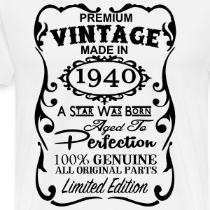 77th Birthday Gift Ideas for Men and Women Unique  - Men's Premium T-Shirt