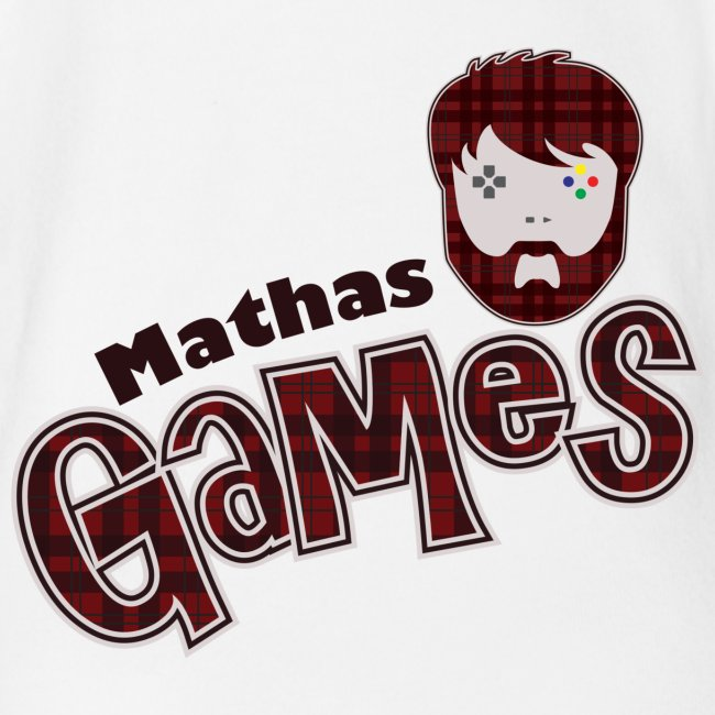 MathasGames for Baby's Short Sleeved Logo