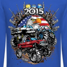 Mega Mud Trucks 2015 Long Sleeve Shirts