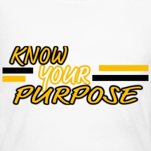Know Your Purpose Long Sleeve Shirts - Women's Long Sleeve Jersey T-Shirt