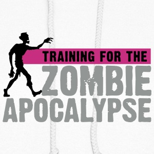 Zombie Apocalypse Gym Motivation Hoodies - Women's Hoodie
