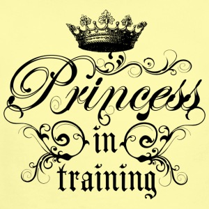 Princess In Training - Short Sleeve Baby Bodysuit