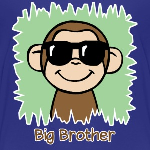 Big Brother Monkey Shirt - Kids' Premium T-Shirt