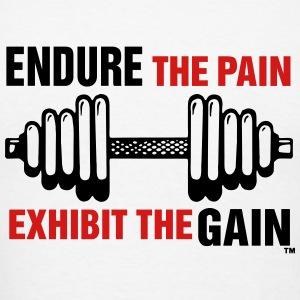 Endure the Pain - Men's T-Shirt