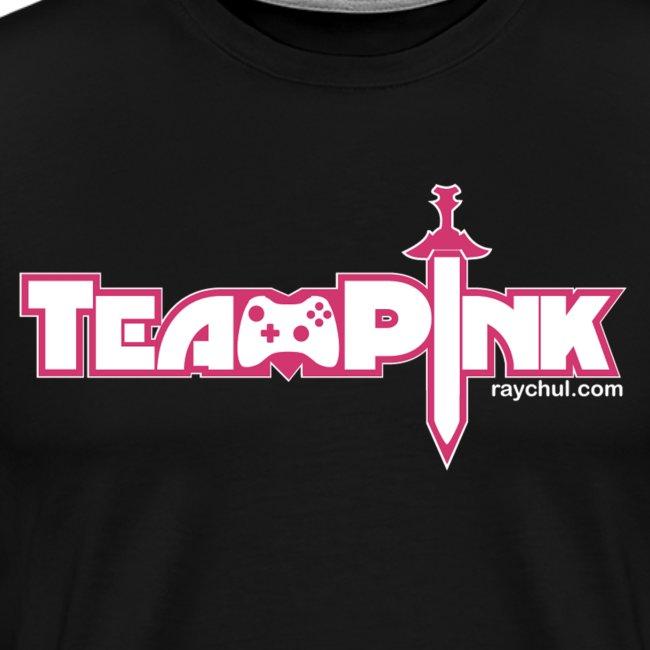 Team Pink shirt for guys!