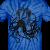 MrCreepyPasta Black Blood Tie Dye - Unisex Tie Dye T-Shirt