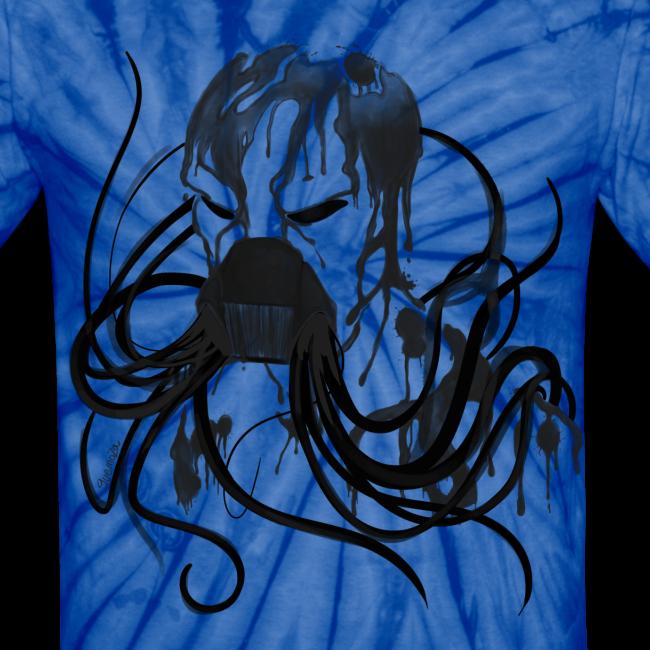 MrCreepyPasta Black Blood Tie Dye