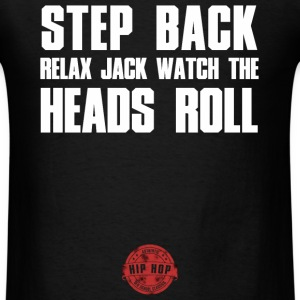 STEP BACK WHITE T-Shirts - Men's T-Shirt