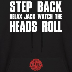STEP BACK WHITE Hoodies - Men's Hoodie