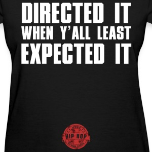 DIRECTED IT WHITE NEW Women's T-Shirts - Women's T-Shirt