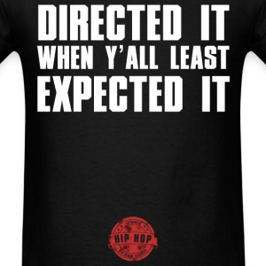 DIRECTED IT WHITE NEW T-Shirts - Men's T-Shirt