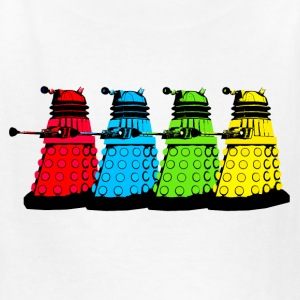Dalek Four Colours Kids' Shirts - Kids' T-Shirt