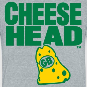 CHEESEHEAD GB - Unisex Tri-Blend T-Shirt by American Apparel