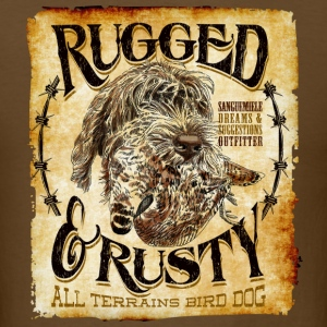 rugged and rusty T-Shirts - Men's T-Shirt