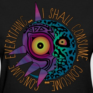 Majoras Mask Moon T-Shirts - Women's T-Shirt