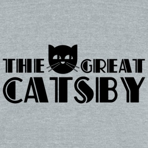 The Great Catsby T-Shirts - Unisex Tri-Blend T-Shirt by American Apparel
