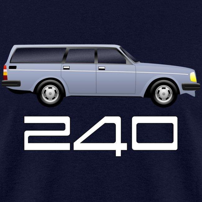 Volvo 240 Wagon Shirt | Men's T-Shirt