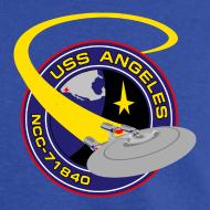 Design ~ Men's Standard T-shirt (original USS Angeles chapter emblem on back)