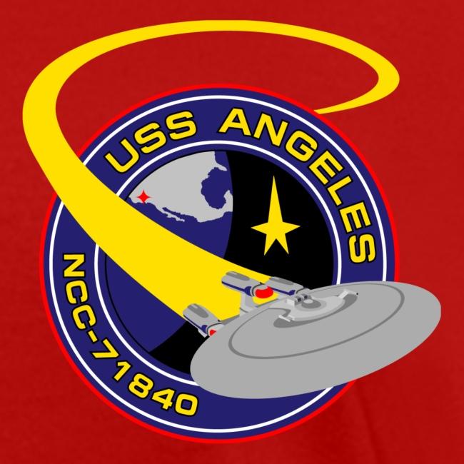 Women's T-shirt (starship orbiting scene on back)