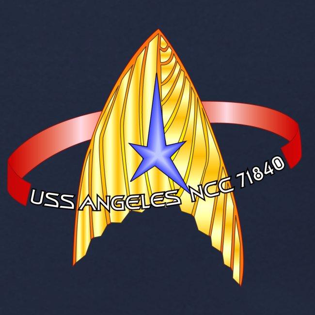 Sweatshirt (new USS Angeles mission logo on back)