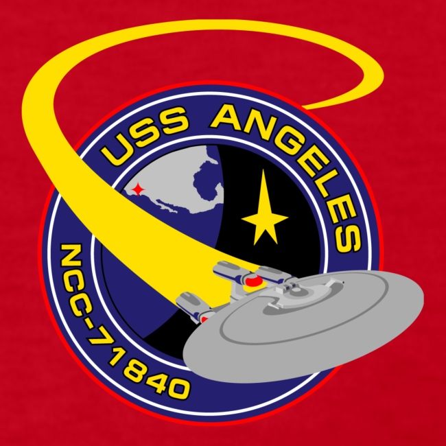 Women's Long Sleeve (original USS Angeles chapter emblem on back)