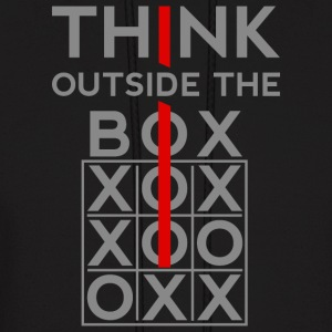 Think Outside The Box Hoodies - Men's Hoodie