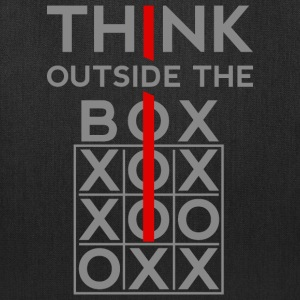 Think Outside The Box Bags & backpacks - Tote Bag