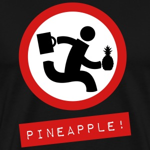 Chuck Pineapple! T-Shirt - Men's Premium T-Shirt