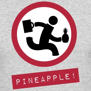 Chuck Pineapple! shirt - Men's Long Sleeve T-Shirt by Next Level