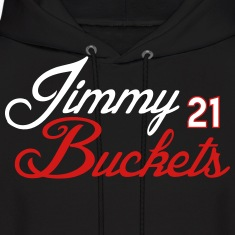 Jimmy Buckets Script Shirt Hoodies