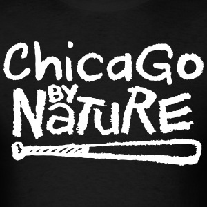 Chicago By Nature T-Shirts - Men's T-Shirt