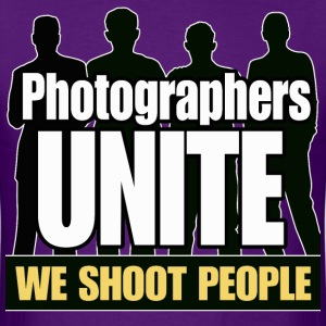 Photographers Unite - Men's T-Shirt