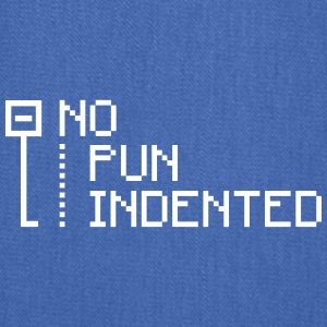 no pun indented Bags & backpacks - Tote Bag
