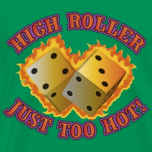 High Roller Dice - Men's Premium T-Shirt