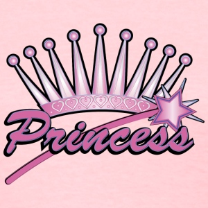 Pink Princess Crown - Women's T-Shirt